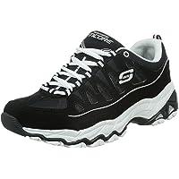 Skechers 斯凯奇 Sport系列 女 生活休闲鞋时尚复古高底台绑带运动鞋 12087