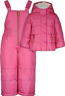 Carter's 卡特女婴重量级夹克和裤子防雪服