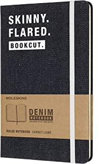 Moleskine 牛仔布《大爆发》大号横线 硬封面 L/A5 笔记本