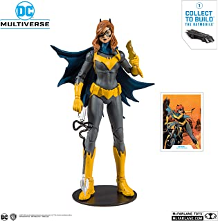 McFarlane Toys 15401-6 DC 現代蝙蝠女可動公仔,多色