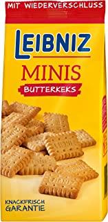 Leibniz 迷你脆饼饼干 散装迷你饼干 饼干套装,带黄油饼干,装在12个饼干袋中,12包装(12x 150g)