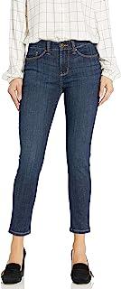 LEE 女士塑形修身九分牛仔裤