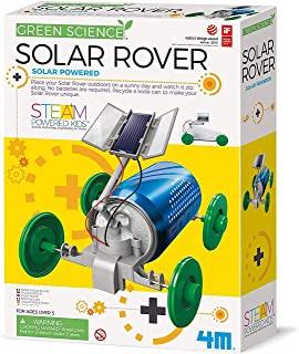 4M 3782 绿色科学太阳能漫游者玩具套件 DIY太阳能,生态工程Stem教育玩具 适合儿童和青少年,男孩和女孩的教育礼物