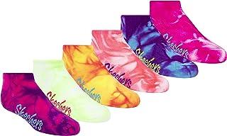 Skechers 女童短袜 6 双装发带