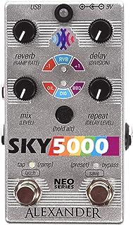 Alexander 踏板 Sky 5000 混响延迟