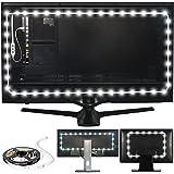 Luminoodle 专业斜纹照明 适用于 HDTV 15色 + 6500K 纯白色 LED 电视背光,胶粘式 RGB…