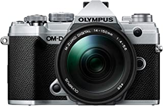 Olympus OM-D E-M5 Mark IIIV207091SU000 Body w/ 14-150mm Black Lens Kit 银色