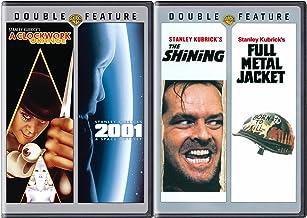 酒店太空战争杰克亚历克斯和库布里克是一部钟面橙色电影 DVD 和斯坦利奥德赛 2001 + 全金属夹克 & 闪耀斯蒂芬王四件套