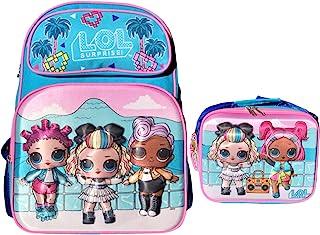"L.O.L. 惊喜! 限量版 Supreme BFF's 16"" 3D 背包和保温午餐袋"