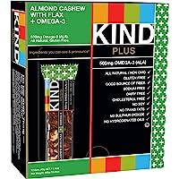 Kind Plus Almond Cashew with Flax Plus Omega 3, 16.8 oz (Pac…
