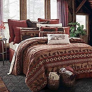 HiEnd Accents Cascade Lodge Bedding, Super King
