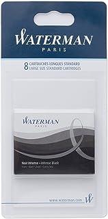 Waterman 墨盒 国际 6 件装 Intense Tintenpatrone Standard groß 8-er Blister Intense Schwarz