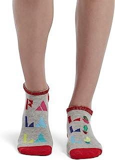 HUE 女式脚踝袜礼品盒套装 2 双装