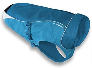 Kurgo North Country 狗狗冬季外套防水狗外套,黑色可选,S 码,M 码,超大码 海岸蓝(Coastal Blue) XS