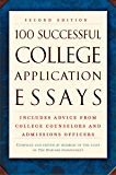 100 Successful College Application Essays (Second Edition…