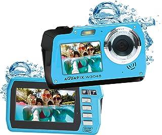 Easypix W3048 Edge Iceblue – 潜水摄像头,48MP 双屏