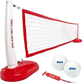 GoSports Splash Net PRO 泳池排球网包括 2 个水排球和泵