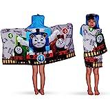 Franco 儿童沐浴和沙滩柔软棉质厚绒布连帽浴巾,24 x 50 英寸(约 61 x 127 厘米),Thomas a…