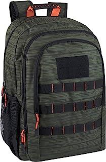 Trail maker 战术迷彩背包 适合男孩、女孩、男士、女式上学和旅行 石南绿 X-Large