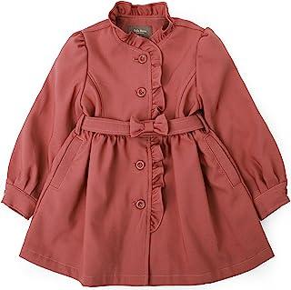 TOTO HEROS 儿童女婴可爱褶边夹克褶边外套