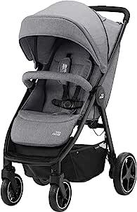 Britax 宝得适 Römer B-Agile M婴儿推车,从出生至4岁(22公斤),大象灰色