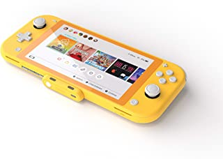 Genki - Nintendo Switch 和 Switch Lite 蓝牙适配器。开关配件兼容大多数 BT 耳机和 Airpods - 低延迟,采用 aptX 技术(黄色)