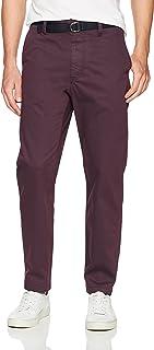 Perry Ellis 男式颜料染色工装裤 棕红色(Cordovan) 30W x 32L
