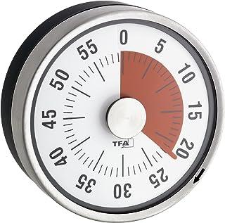 La Crosse Technology 38.1028.10 厨房计时器,*煤色/黑色