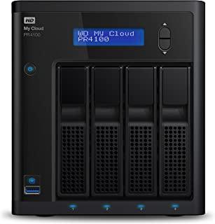 Western Digital 32 TB My Cloud Pro PR4100 专业系列4托架网络附加存储-NAS-WDBNFA0320KBK-EESN