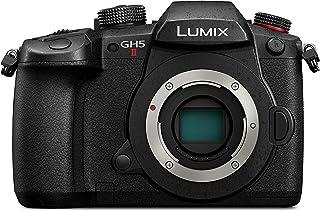 Panasonic 松下 LUMIX GH5M2 无反相机,无线直播和 LUMIX 12-60mm F3.5-5.6 镜头 - 黑色