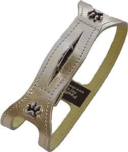 ChokeFree 宠物肩领,71.12 厘米,金属金色