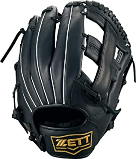 ZETT(ZETT) 软式棒球 软球 兼用 石墨(手套) 莱特斯 全能用 黑色(1900) BSGB3900