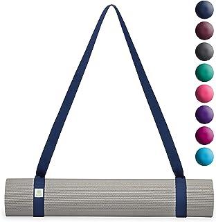 Gaiam 易系瑜伽垫吊带(单独出售,有多种颜色可选) *蓝