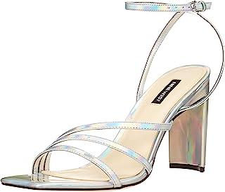 NINE WEST 女式 Zelina3 高跟凉鞋
