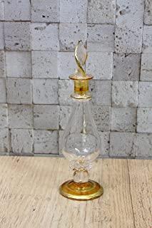 玻璃永生花 植物标本灯 香水瓶 黄色 40139
