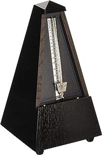ウィットナー 木製メトロノーム つや消し仕上げ 拍子ベル付き オーク・ブラック