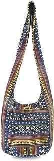 Aztec 女士瑜伽包肩斜挎包书包,适合学院嬉皮爱好斜挎包中号