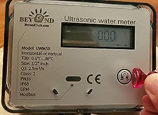 超声波水表 1/2 英寸,带 ModBus