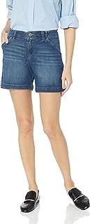 Lee 女士常规修身斜纹棉布短裤