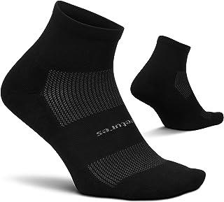 Feetures - 高性能缓冲 - 四分之 - 男女运动跑步袜