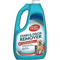 Simple Solution 宠物污渍和异味去除剂   2 倍 Pro-Bacteria 清洁能力   1 加仑(约…