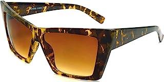 HIGH 尖头猫眼太阳眼镜尖锐几何方形眼镜 Cateyes