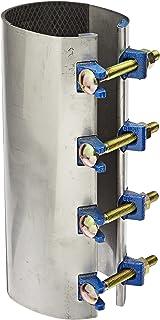 Smith-Blair - 24500045012000 不锈钢维修夹,Redi-夹,碳钢螺栓,4 个螺栓,12 英寸(约 30.5 厘米)长,4 英寸(约 10.2 厘米)管道尺寸