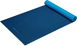 Gaiam Premium Solid Two-Sided Yoga Mat