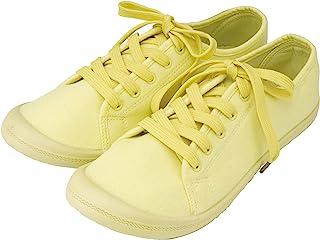 ZIP CORPORATION 女式轻便运动鞋 可爱 低帮 帆布 浅黄色 M 23~24cm 81995