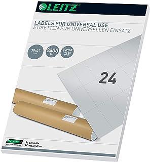 Leitz 61800001 通用型 PC Labels 70 x 37 mm 白色 有线接口/性别适配器