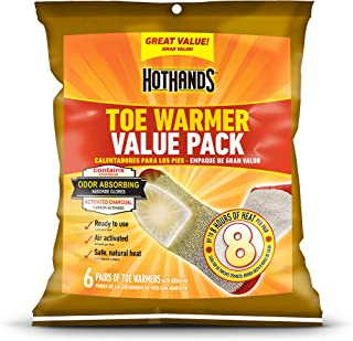 HotHands Adhesive Toe Warmer Value Packs