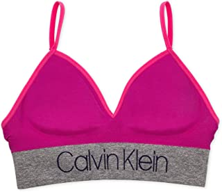 Calvin Klein 女童无缝长款文胸
