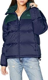 LACOSTE 外套 [官方] 带连帽彩色块羽绒服 女款