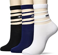 Champion 低筒袜 3P 字母标识 WOMEN'S 3P CWSCU101 女士